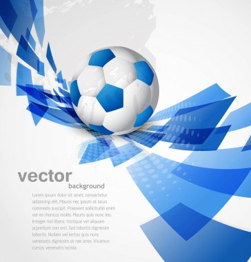Abstract football art color colorful circle creative Vector