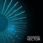 Návrh vektorové obvodu kruhu barevné