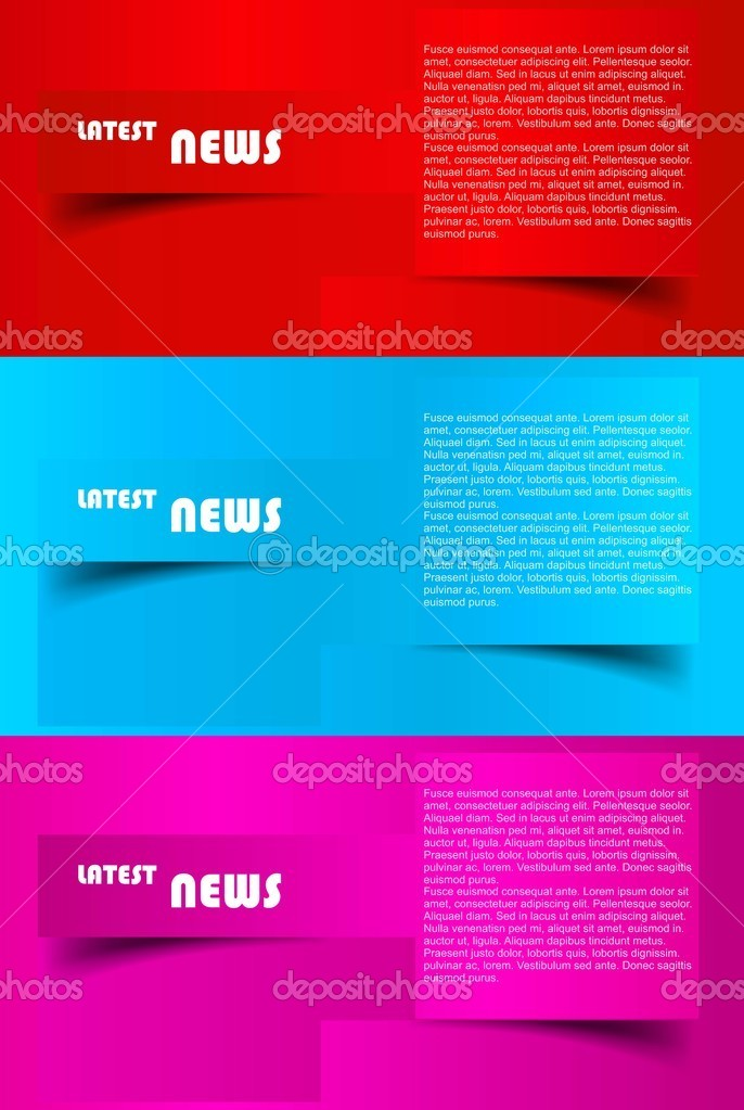 Design Of Advertisement Brochure Vector — Stock Vector © Bharat28