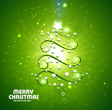 New background star marry Christmas