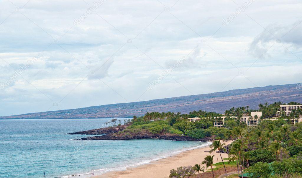 Hapuna Beach State Park Hawaii Big Island Stock Photo