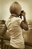 Fényképek lány fotós