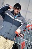 Fotografie Mann mit Down-Syndrom