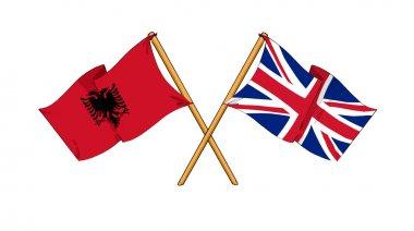 United Kingdom and Albania alliance and friendship