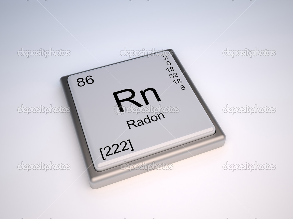 Radon from periodic table stock photo conceptw 10393138 radon chemical element of the periodic table with symbol rn photo by conceptw gamestrikefo Images