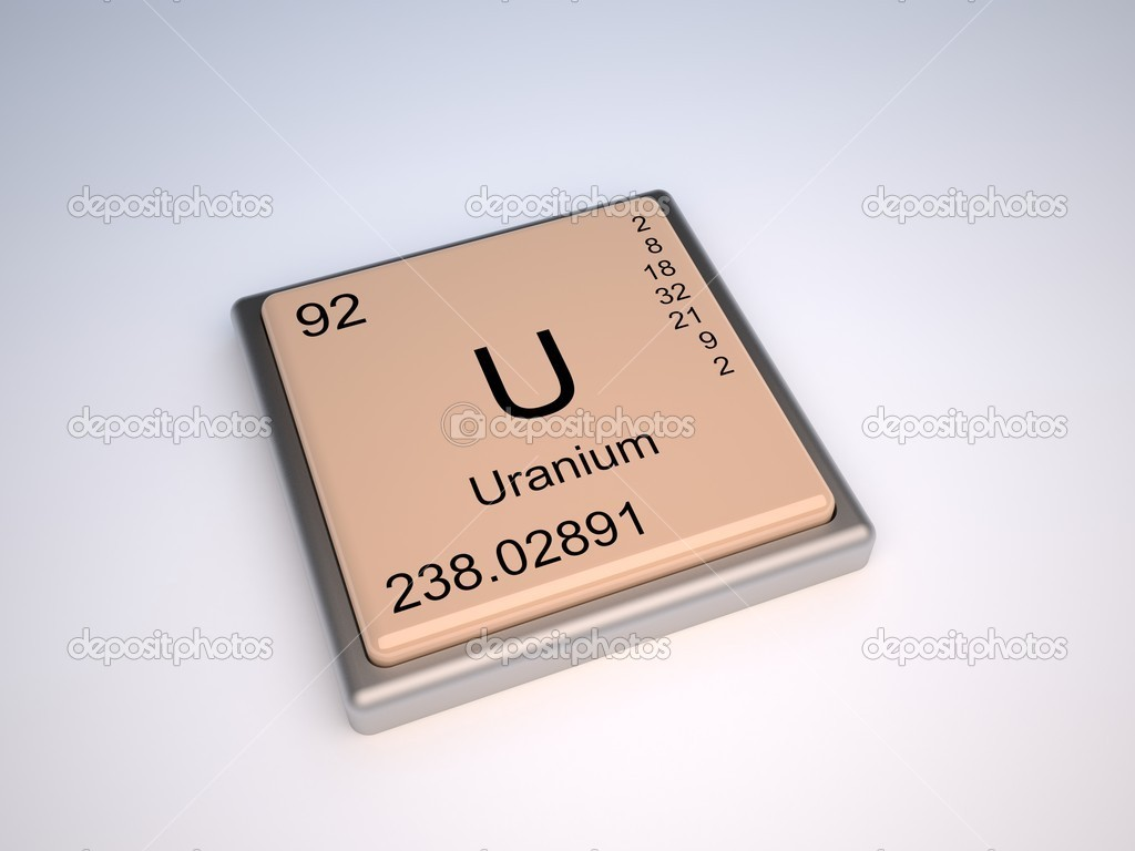 Uranium stock photo conceptw 10393156 uranium chemical element of the periodic table with symbol u photo by conceptw gamestrikefo Choice Image