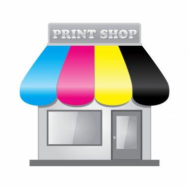 Print Shop front