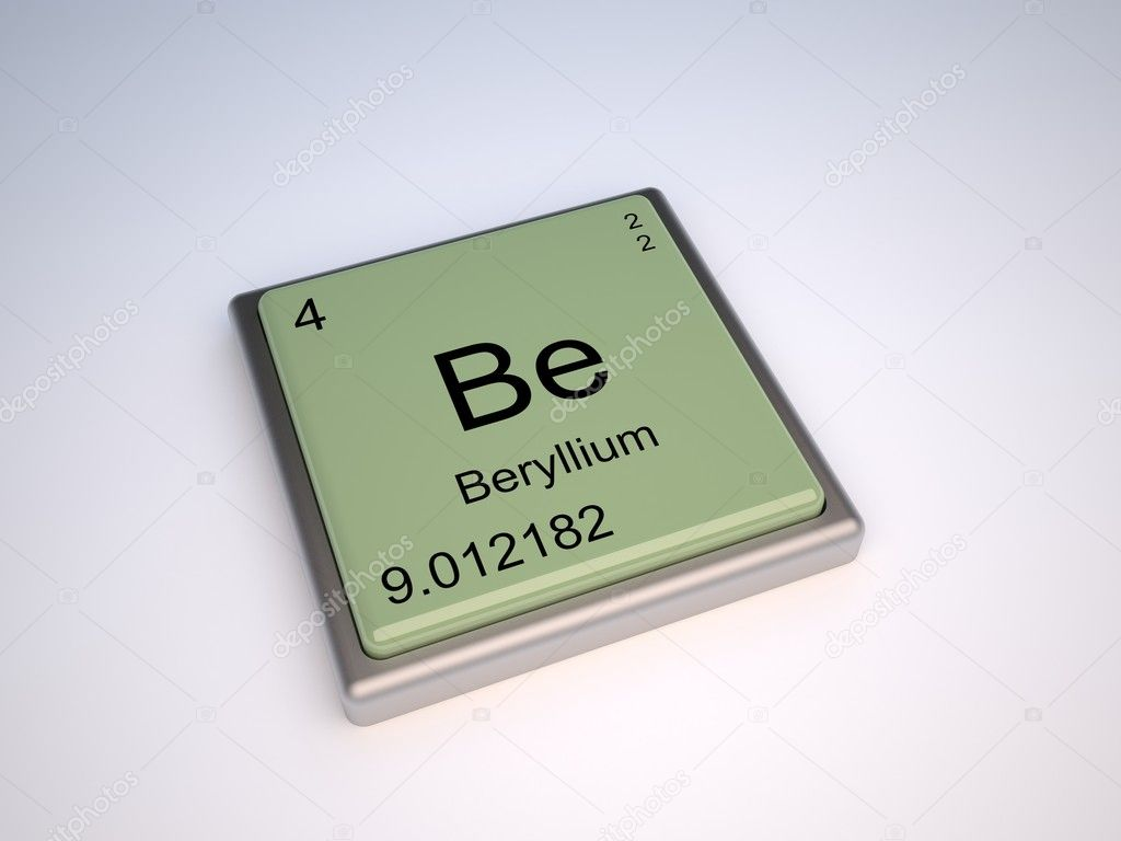 Beryllium stock photo conceptw 8965001 beryllium chemical element of periodic table with symbol be photo by conceptw gamestrikefo Image collections