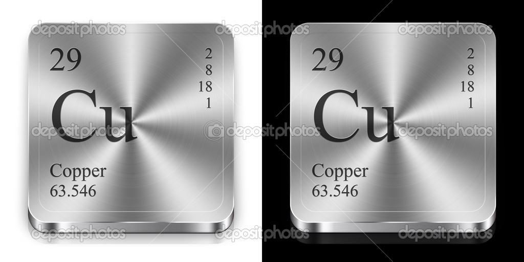 Copper from periodic table stock photo conceptw 9623739 copper from periodic table stock photo urtaz Image collections