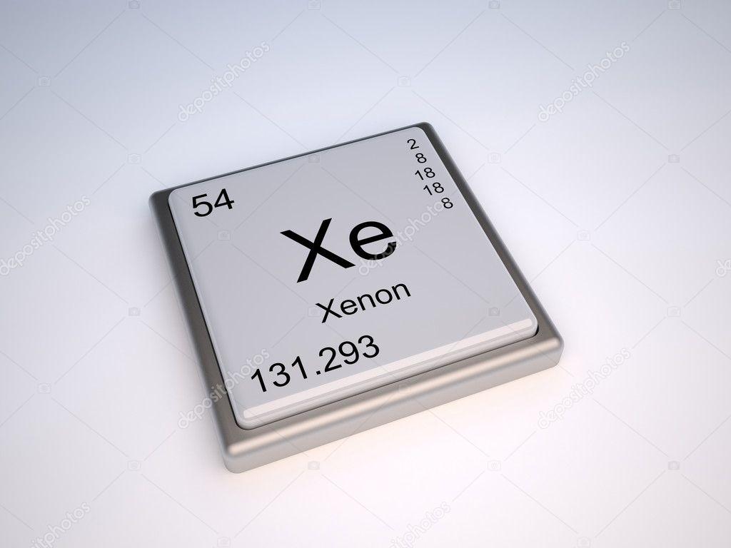 Xenn de tabla peridica foto de stock conceptw 9624175 el elemento qumico del xenn de la tabla peridica con el smbolo xe foto de conceptw urtaz Image collections