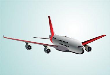 Plane. Vector illustration. stock vector
