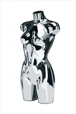 Female fashion mannequin