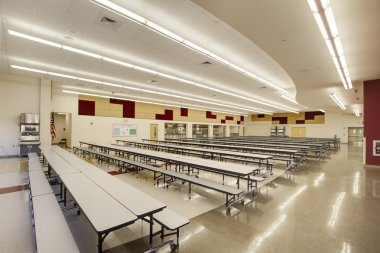 Cafeteria at High School