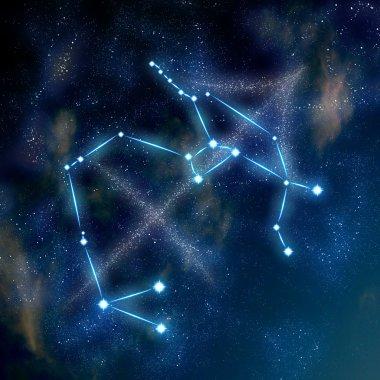 Sagittarius constellation and symbol