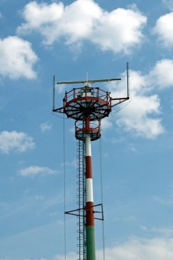 New lighthouse beacon with radar and antennae for signaling