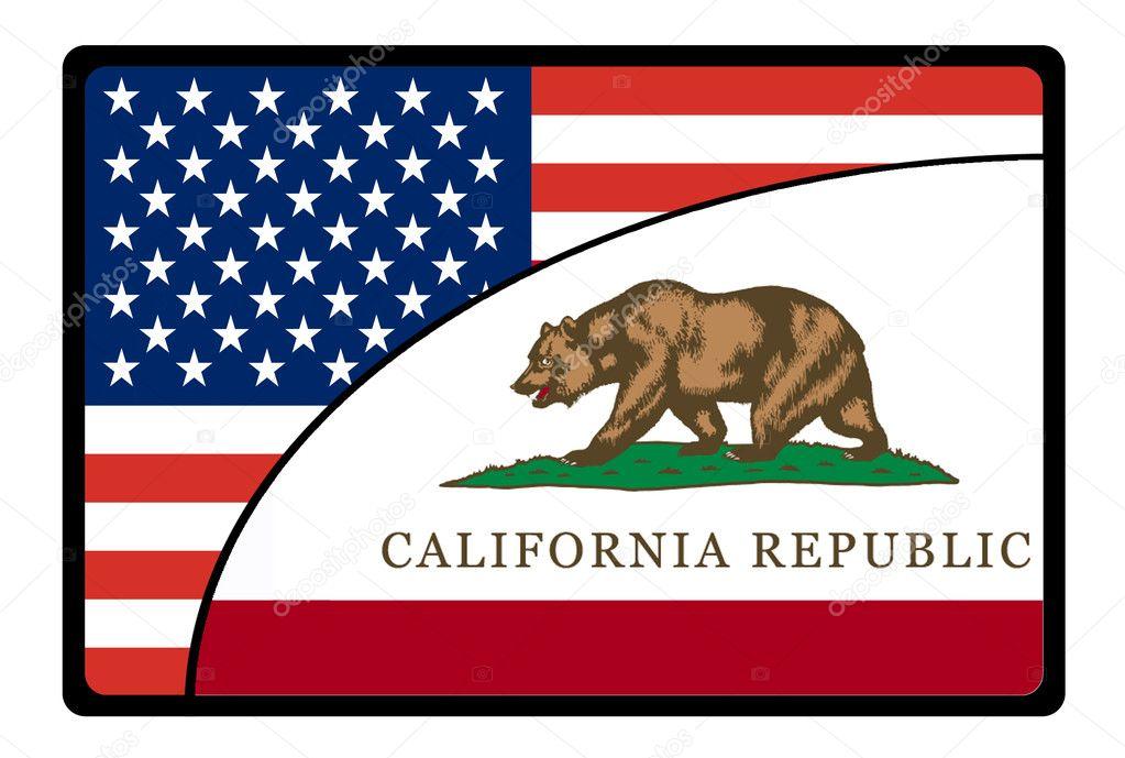Drapeau de la californie de l 39 am rique photographie gguy 9385265 - Drapeau de l amerique ...