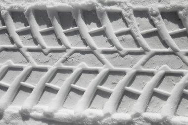 Winter tire pattern