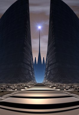 Gate on an Alien Planet