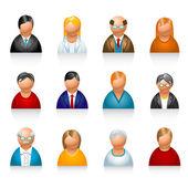 felhasználói ikonok