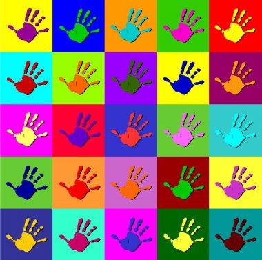 Warhol hands