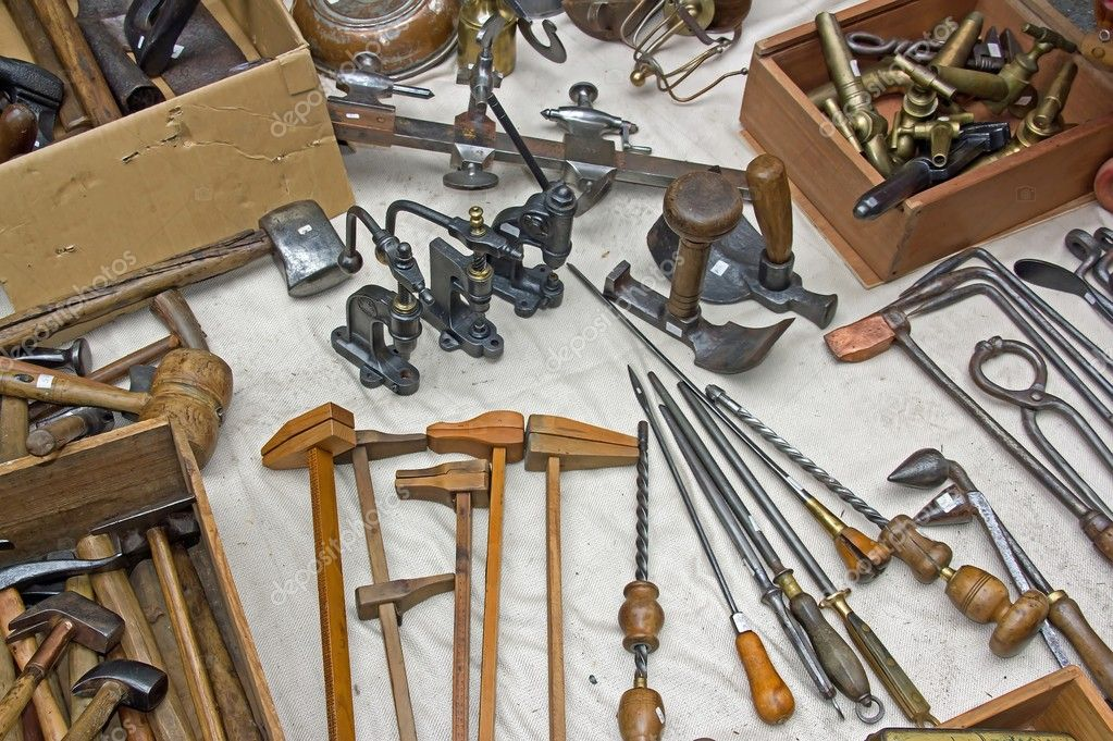 sale of old tools — stock po © neko92vl #7964175