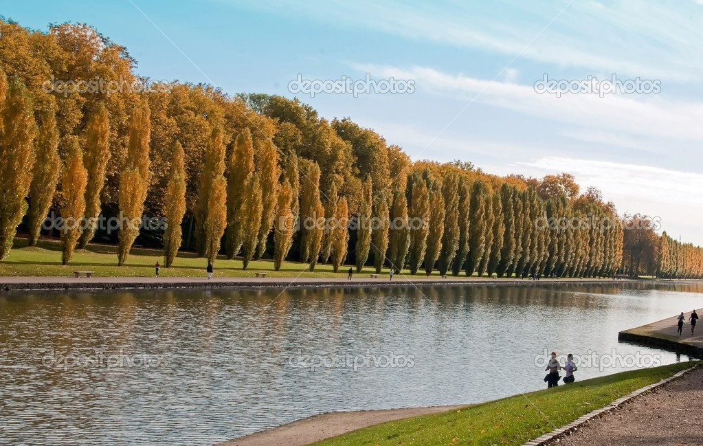 Grand Canal and joggers