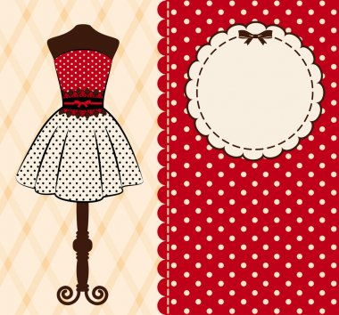 Vintage background with lace ornaments. Vector clip art vector