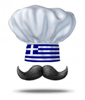 Greek Cooking Concept
