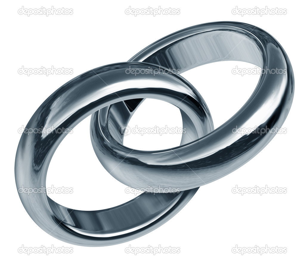 445088c8ca6f3 Linked partnership With Linked Rings — Stock Photo © lightsource ...