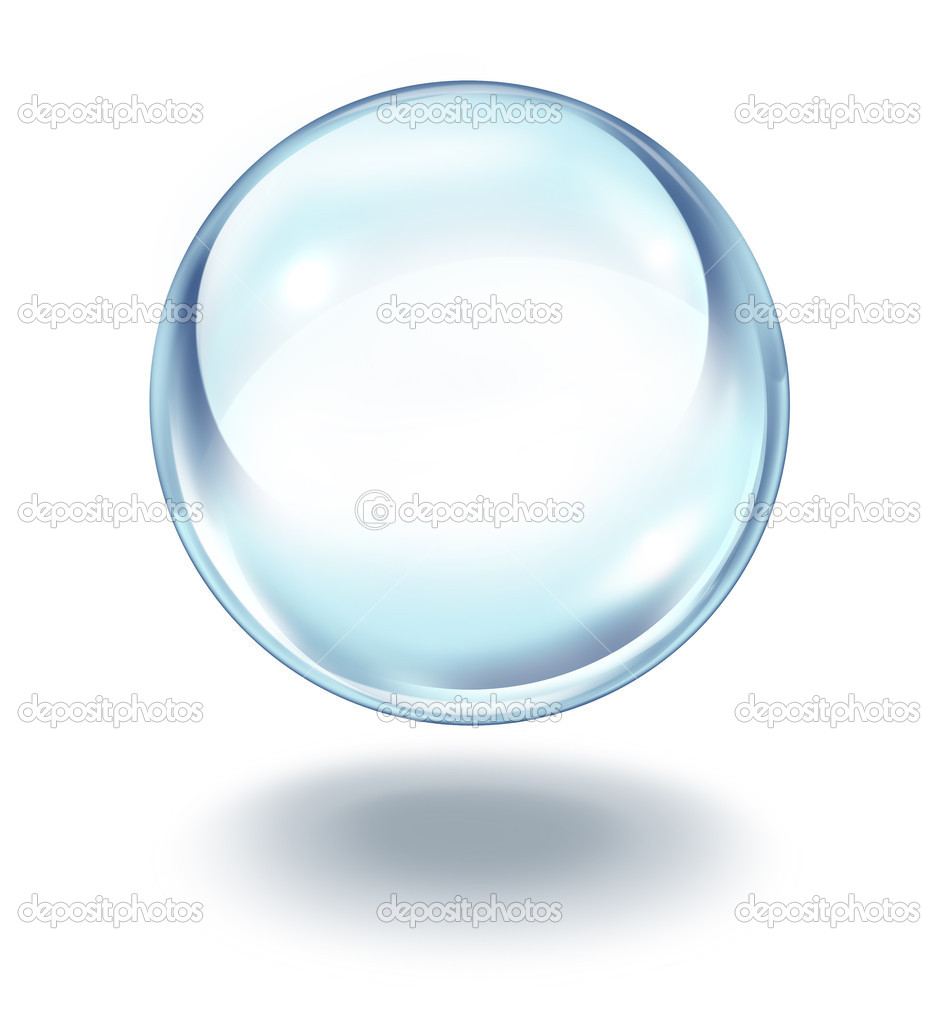 Crystal ball floating stock photo lightsource 8732044 for Crystal trasparente