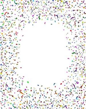 Celebration Confetti Frame