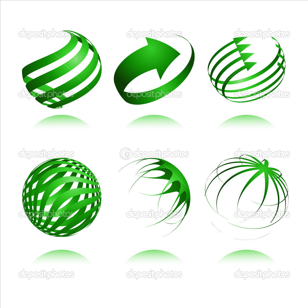 3d abstract vector design