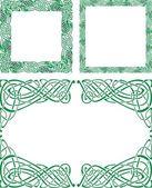 Photo Celtic ornament borders