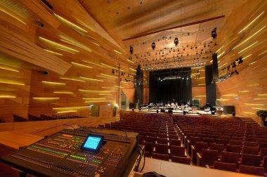 Modern concert hall inside