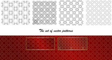 A set of seamless vector pattern