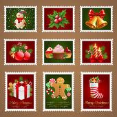 Photo Christmas postage.