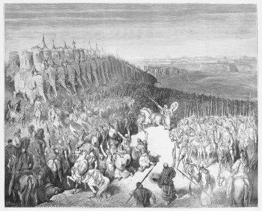 Judas Maccabeus before the Army of Nicanor