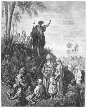 John the Baptist Preaches in the Wilderness