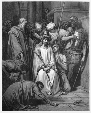 Jesus Is Crowned with Thorns