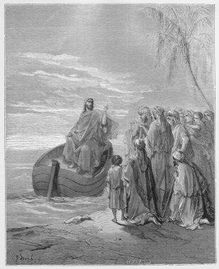 Jesus Preaching at the Sea of Galilee