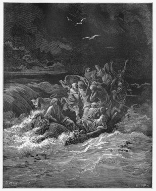 Jesus Stilling the storm