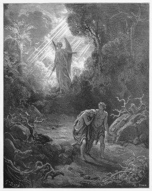 Sacrifices driven out of Eden