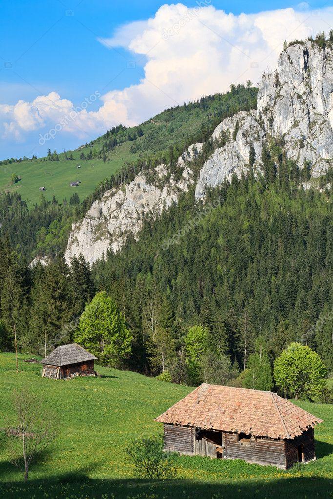 Case Di Montagna Foto Stock C Porojnicu 8574558