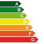 Fotografie Energieklasse energieberatung balkendiagramm effizienzbewertung elektrische geräte umweltverbrauchend