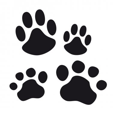 Animal Paw pet wolf paw paw vector bear footprint animal paw cat paw fingerprint impression