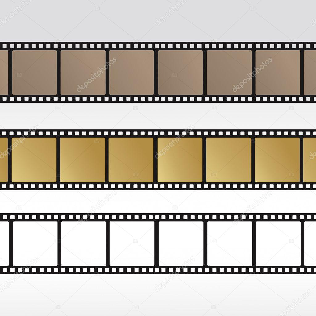 Set 35mm Movie Film Reel Filmstrip Photo Roll Negative