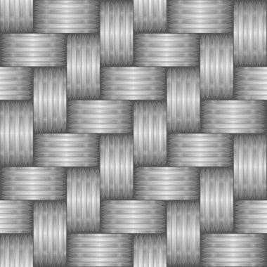 Vector silver pattern