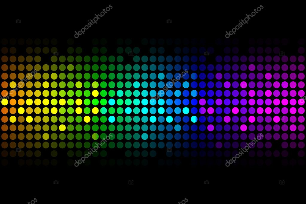 Vector background - colorful lights