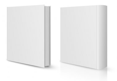 Front and back view of book