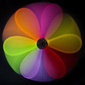 barevné abstraktní větrný mlýn